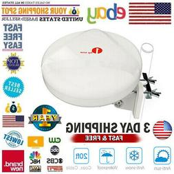 360° 1Byone Omni-directional Amplified TV Antenna RV Marine