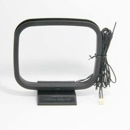 Ancable FM and AM Loop Antenna with 3-Pin Mini Connector for