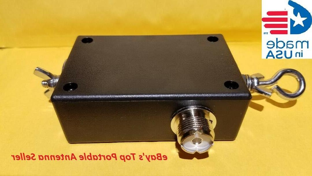 all stainless hardware end fed dipole 80