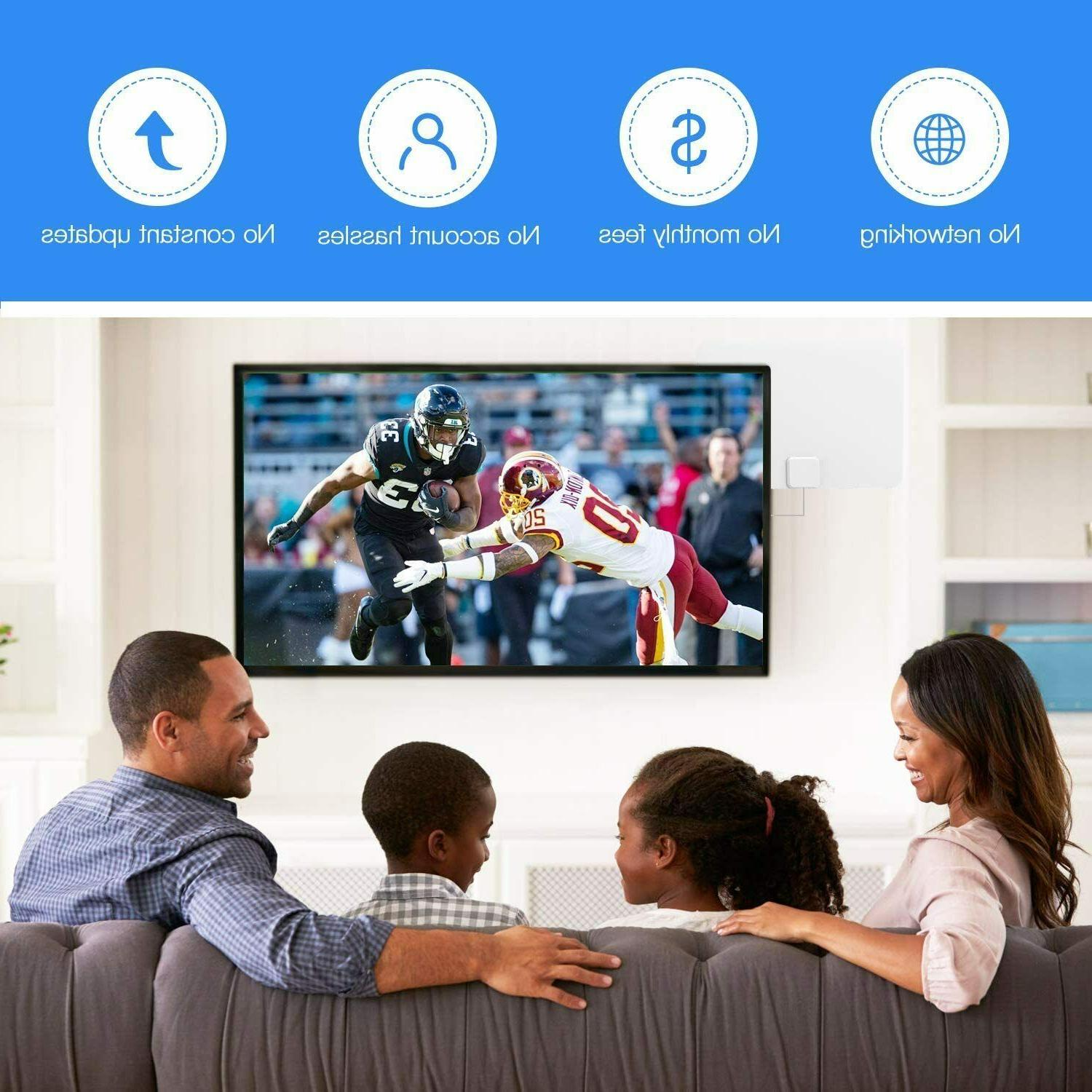 Newest Amplified TV HDTV 1080P Long Miles